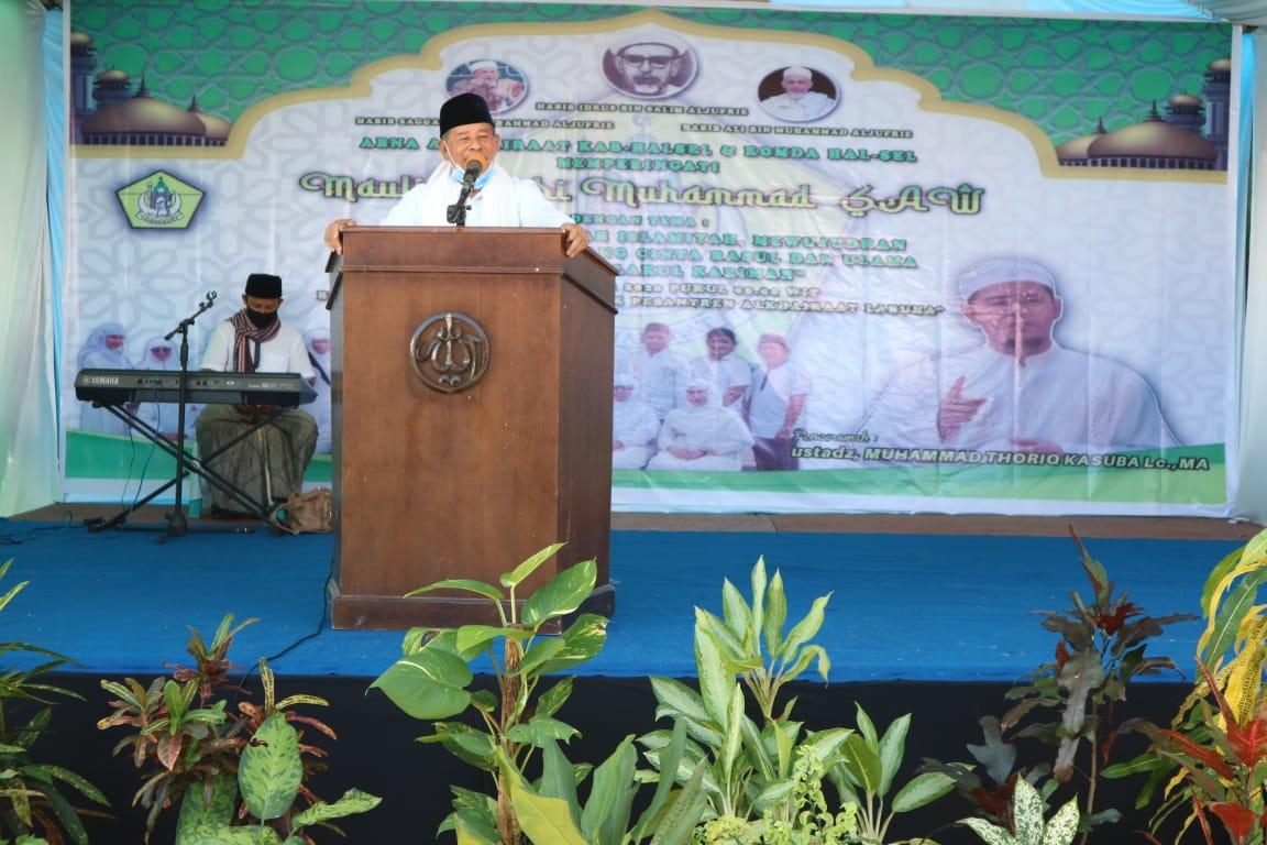 Peringati Maulid Nabi, Gubernur kisahkan perjuangan leluhur menyebarkan Islam